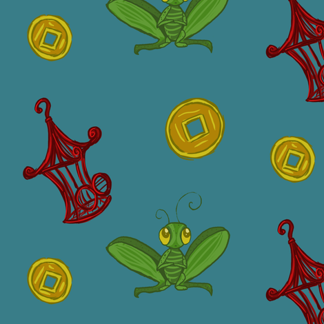 Just for Luck fabric by erislei on Spoonflower - custom fabric