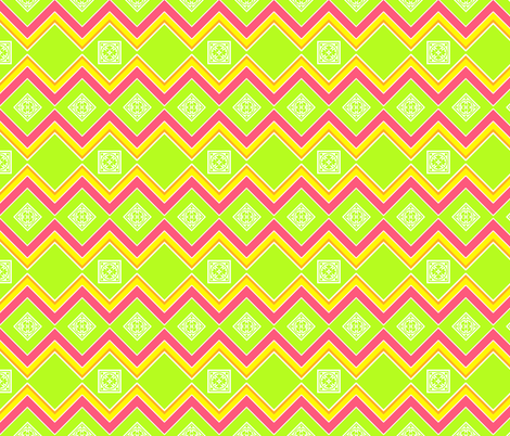 CITRUS_ZIGZAG2 fabric by mammajamma on Spoonflower - custom fabric