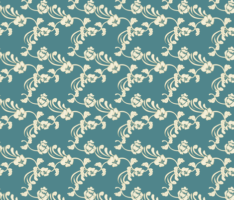 Damask fabric by lana_gordon_rast_ on Spoonflower - custom fabric