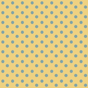 Teal___Yellow_Polka_Dots