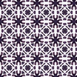 Purple Lacey Design Pattern