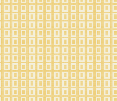 Yellow___White fabric by ©_lana_gordon_rast_ on Spoonflower - custom fabric
