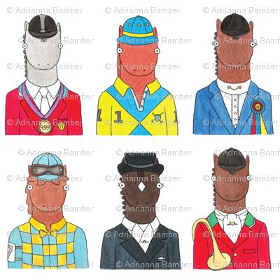 English Riding Horses