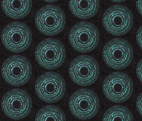 Pandorica 10x10 Half-Drop Repeating fabric by jennofalltrades on Spoonflower - custom fabric