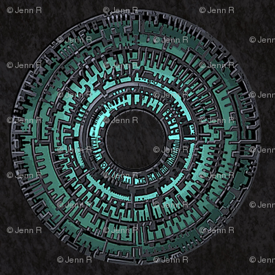 Pandorica 10x10 Mirrored Repeat