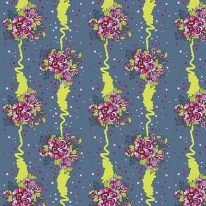 Pattern of bouquets
