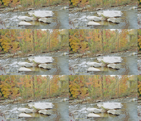 Chimney Rock Creek fabric by sgtipton on Spoonflower - custom fabric