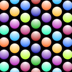shiny spheres R6