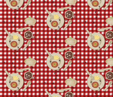 Picnic fabric by purples on Spoonflower - custom fabric
