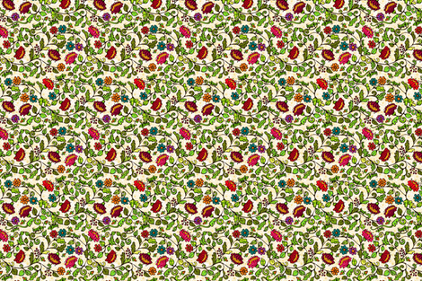grillos_y_luciernagas fabric by kirpa on Spoonflower - custom fabric
