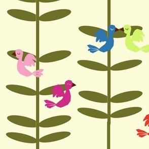 birds & the beanstalk