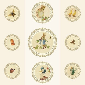 Peter Rabbit and Friends (Columns)
