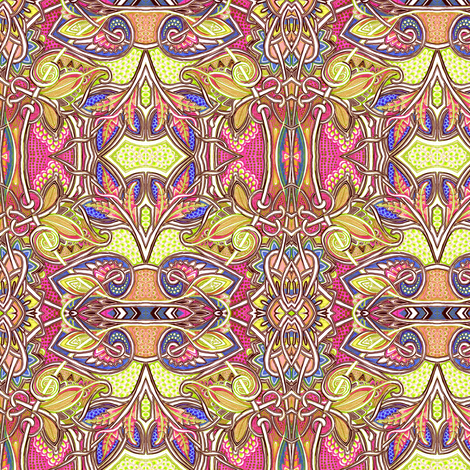 Where the Pollen Flies fabric by edsel2084 on Spoonflower - custom fabric