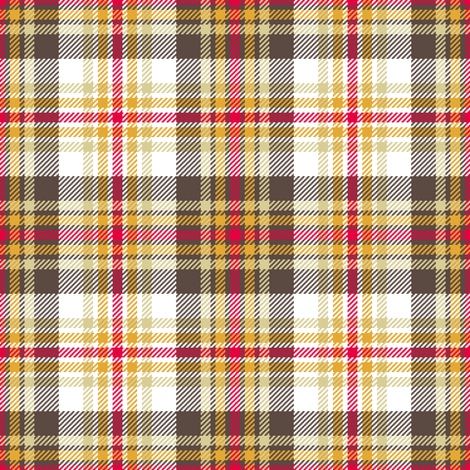 tartan - retro kitchen fabric by sef on Spoonflower - custom fabric
