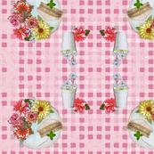 Floral picnic