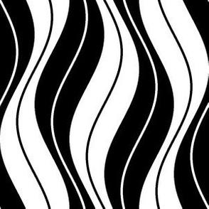 veined sine waves - zigzags