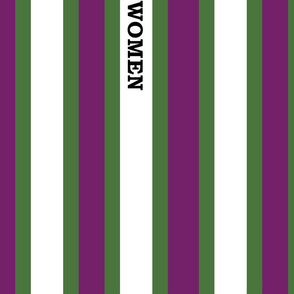 suffragist sash green and purple