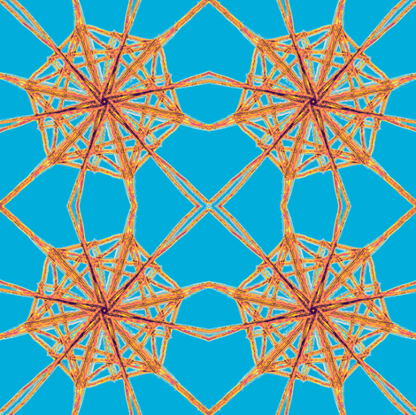 Orb Weaving fabric by ravynscache on Spoonflower - custom fabric