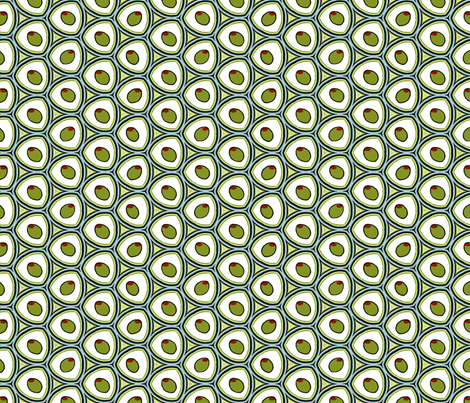 I Luv Olives! fabric by luv2silkpaint on Spoonflower - custom fabric