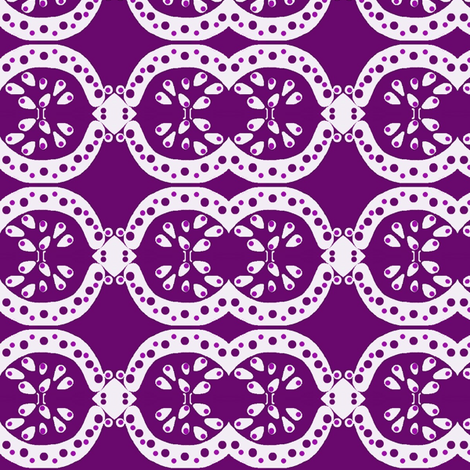 purple melons fabric by dk_designs on Spoonflower - custom fabric
