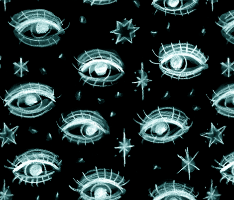 Witchcraft - 2 fabric by heytangerine on Spoonflower - custom fabric