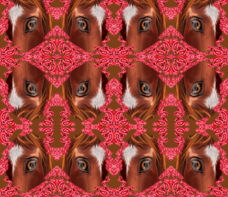 Western Kaleidoscope  fabric by graphicglee on Spoonflower - custom fabric