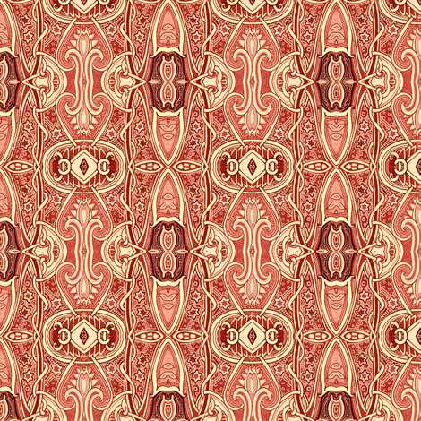 Why I Like Browsing at Old Book  Stores fabric by edsel2084 on Spoonflower - custom fabric