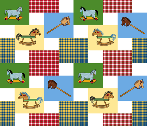 double_steps_2x2_gyb_plaids fabric by khowardquilts on Spoonflower - custom fabric