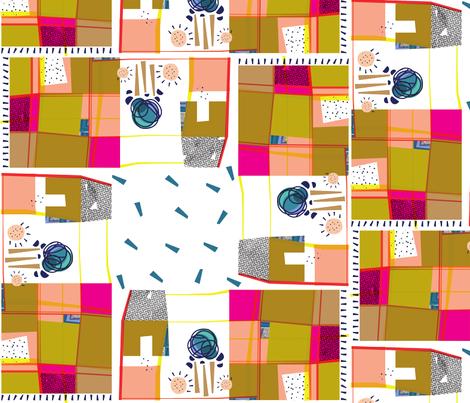 picnic fabric by lila_the_dressmaker on Spoonflower - custom fabric