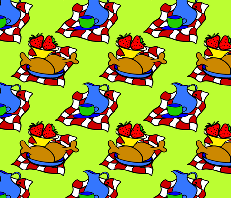 picnic_1 fabric by bluewrendesigns on Spoonflower - custom fabric