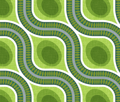 Around the Bend fabric by spellstone on Spoonflower - custom fabric