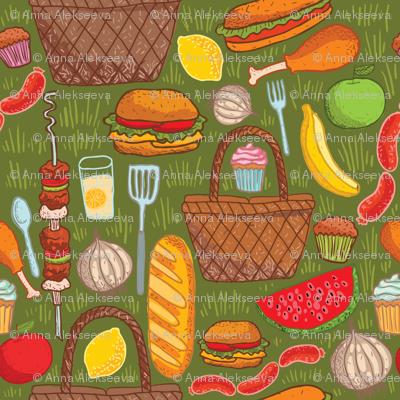 picnic ingredients