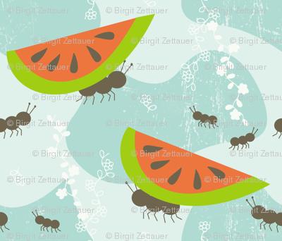 ants family picnic