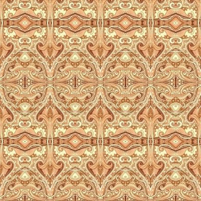 Victorian Tooled Leather (halftone version)