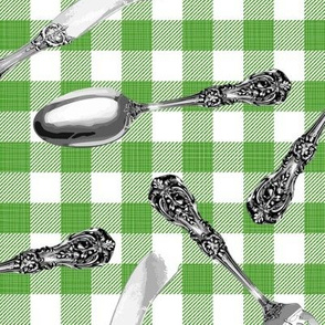 Julie's Picnic Silverware G