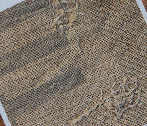 Feed Sack- natural fibers, large scale