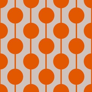 Orange Dotted Line
