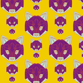 wolf multicolour