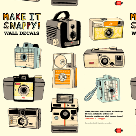 Make It Snappy! Wall Decals