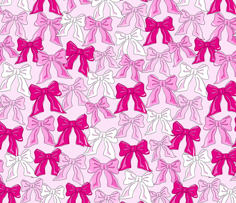jb_bows_2 fabric by juneblossom on Spoonflower - custom fabric