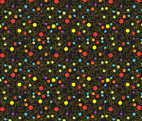 MUN-wmb_Scribbles_Planets_blk fabric by wendybentley on Spoonflower - custom fabric