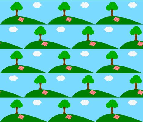 picnic fabric by itsahootdesigns on Spoonflower - custom fabric