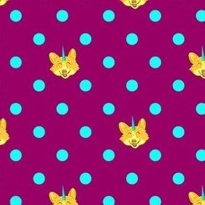 Unicorgi Polka Dot
