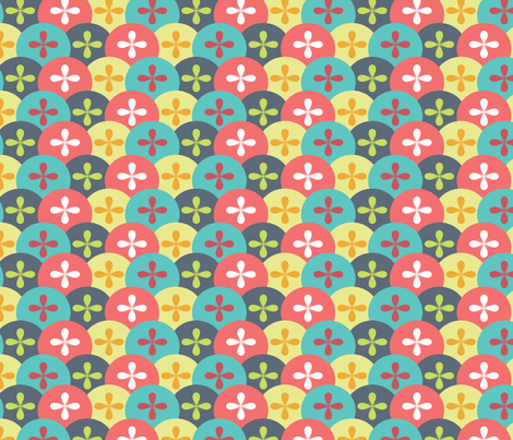 Starburst_Scales fabric by ballisticsweatergirl on Spoonflower - custom fabric
