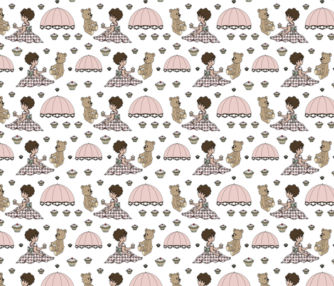 Teddy Bears Picnic fabric by sarahjtwist on Spoonflower - custom fabric