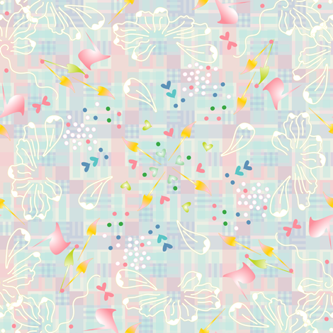Gossamer's Pique-Nique fabric by lisa_rivas on Spoonflower - custom fabric