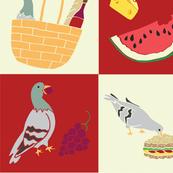 Pigeon Picnic
