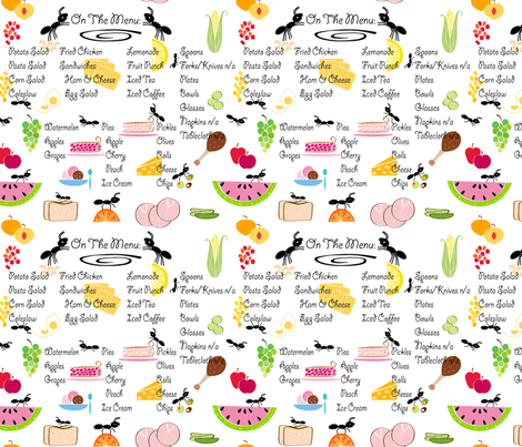 picnic fabric by stella12 on Spoonflower - custom fabric