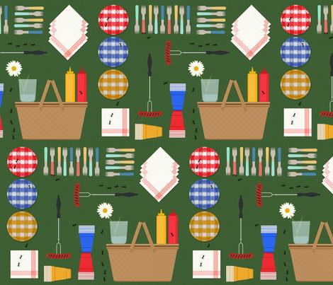 picnic_perfect fabric by cbyc_studio on Spoonflower - custom fabric
