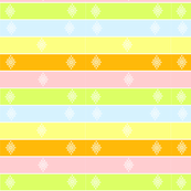Lined Up in Pastels
